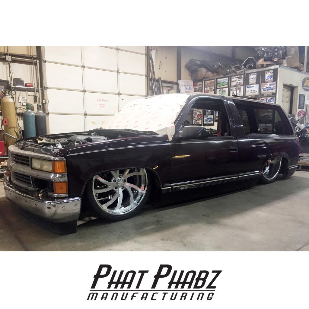 1988-1999 Tahoe/Yukon Chassis (2 Door) – Phat Phabz